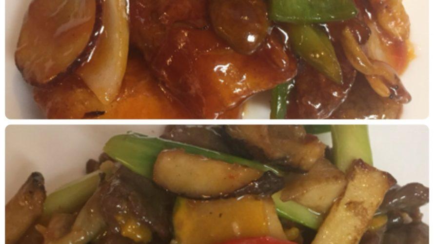 今週のランチセットは「白身魚と野菜の甘酢炒め」「牛肉ときのこの腐乳炒め」です!ジャムの販売も始めました。