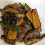 今週のランチメニューは「エビとサツマイモの甘酢炒め 」「牛肉と季節野菜のオイスターソース炒め 」です!